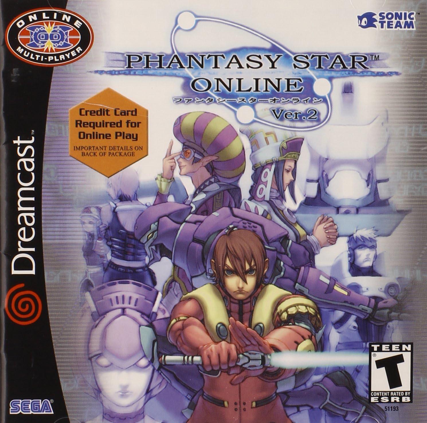 Phantasy Star Online best Dreamcast games.
