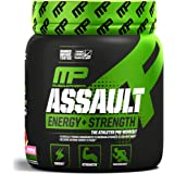 MusclePharm Assault Sport Pre-Workout Powder with High-Dose Energy, Focus, Strength, and Endurance, Watermelon, 30…