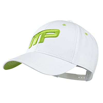 MusclePharm 2016 MP Front Logo Sports Training Hat Mens Structured Baseball Cap-Adjustable