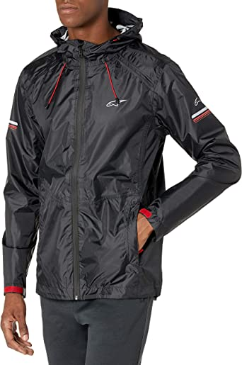 Alpinestars Mens Resist II Rain Jacket Black S