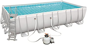 Bestway 56471 Power Steel Rectangular Pool 671 X 366 X 132 cm ...