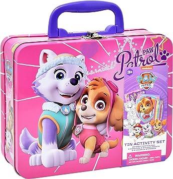 Amazon.com: Caja de lata para colorear y actividades de la ...