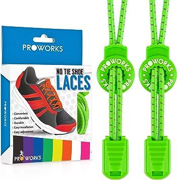 Cordones sin nudo, de la marca Proworks, cordones elásticos para ...