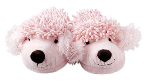 f5c03e519b8 Image Unavailable. Image not available for. Color  Aroma Home Fuzzy Friends  Poodle Slippers