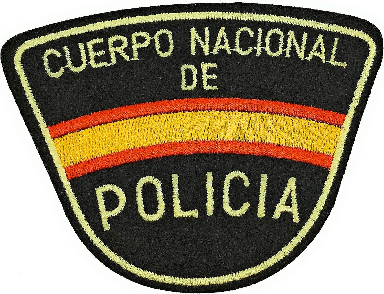 Gemelolandia Parche Termoadhesivo Cuerpo Nacional de Policía 9cm: Amazon.es: Ropa y accesorios