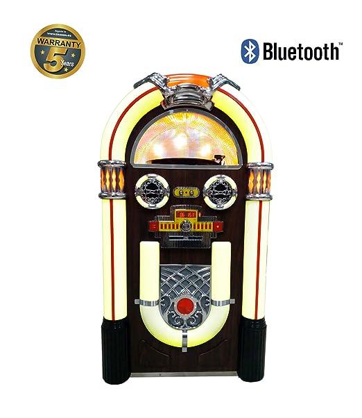 Lauson CL148 Jukebox Reproductor de Vinilos con Bluetooth ...