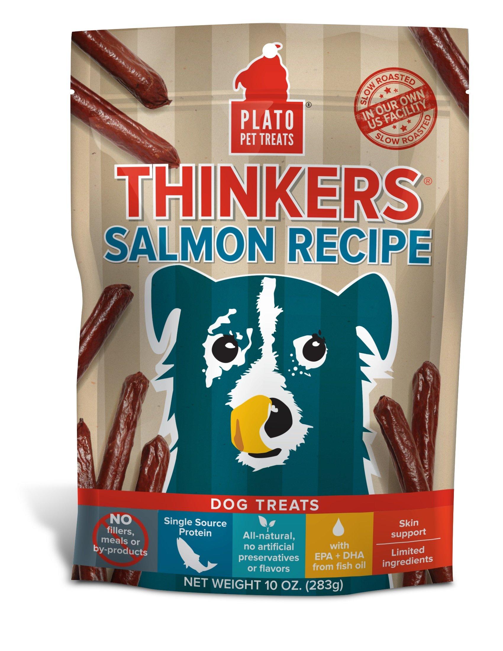 Plato Thinkers Salmon Sticks - 10oz
