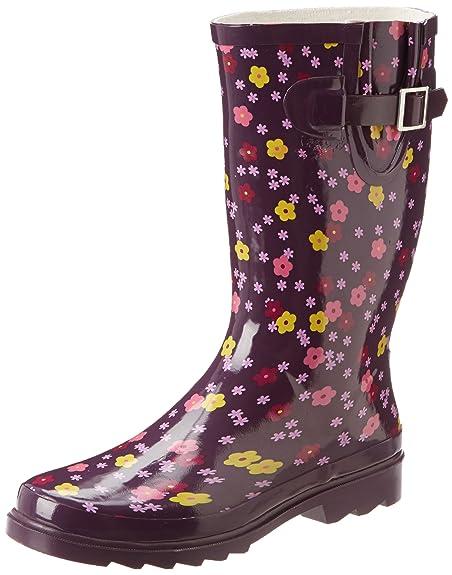 Western Chief Women's Mini Floral Rain Boot