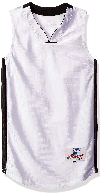 Intensity Boys Youth pro Style Dazzle Basketball Jersey