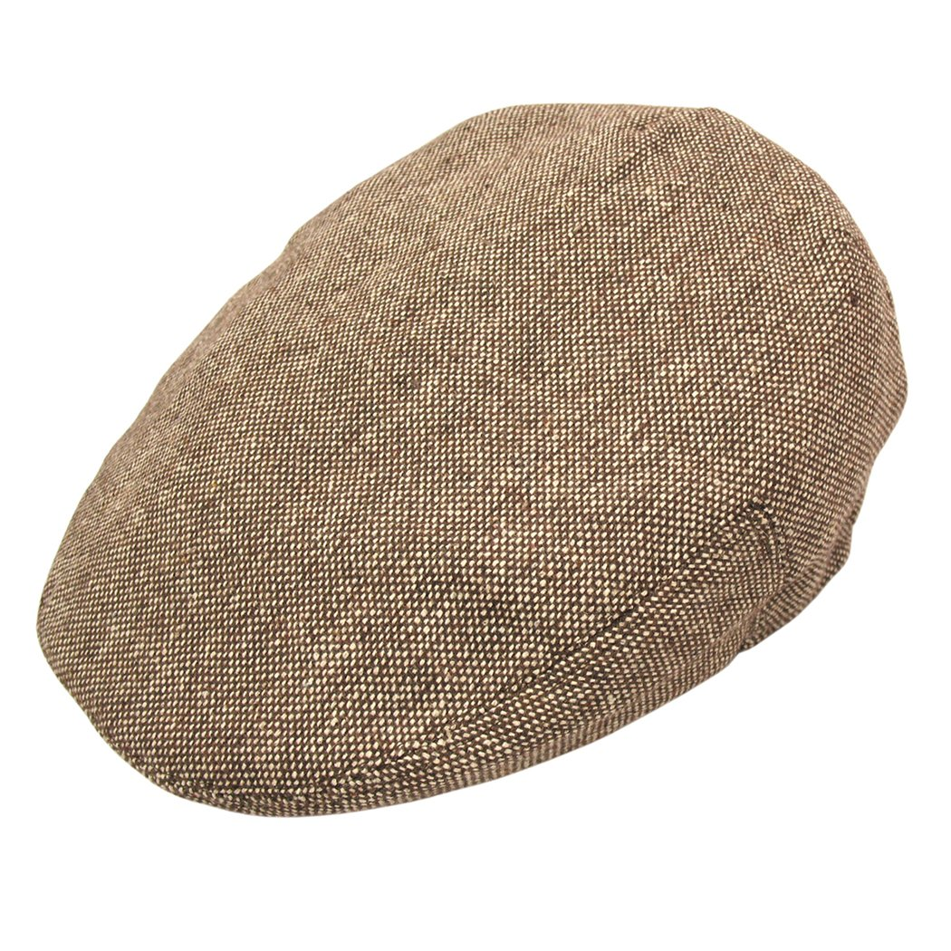 Amazon.com  Jaxon Marl Tweed Ivy Cap  Clothing e4ba5b7af5e