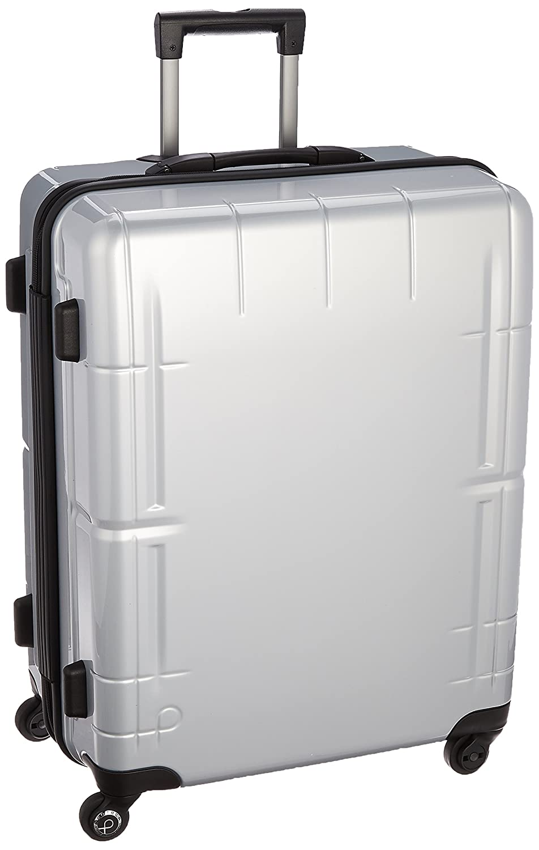 [プロテカ] 3年保証付 日本製スーツケース スタリアV 76L 保証付 76L 60cm 4.2kg 02645 B01MY9IGOY シルバー