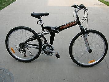 Columba 26 Alloy Folding Bike W Shimano Black