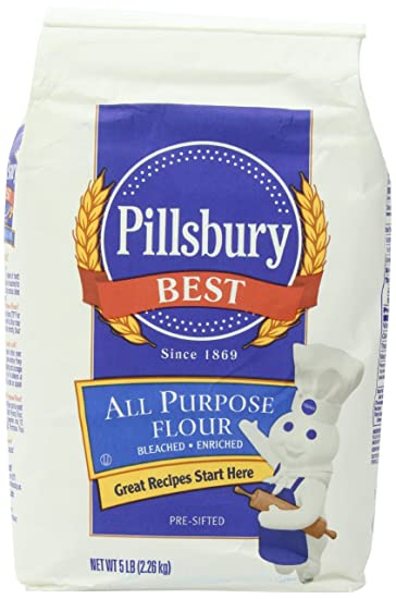 Amazon Com Pillsbury Best All Purpose Flour 5 Lb Wheat Flours