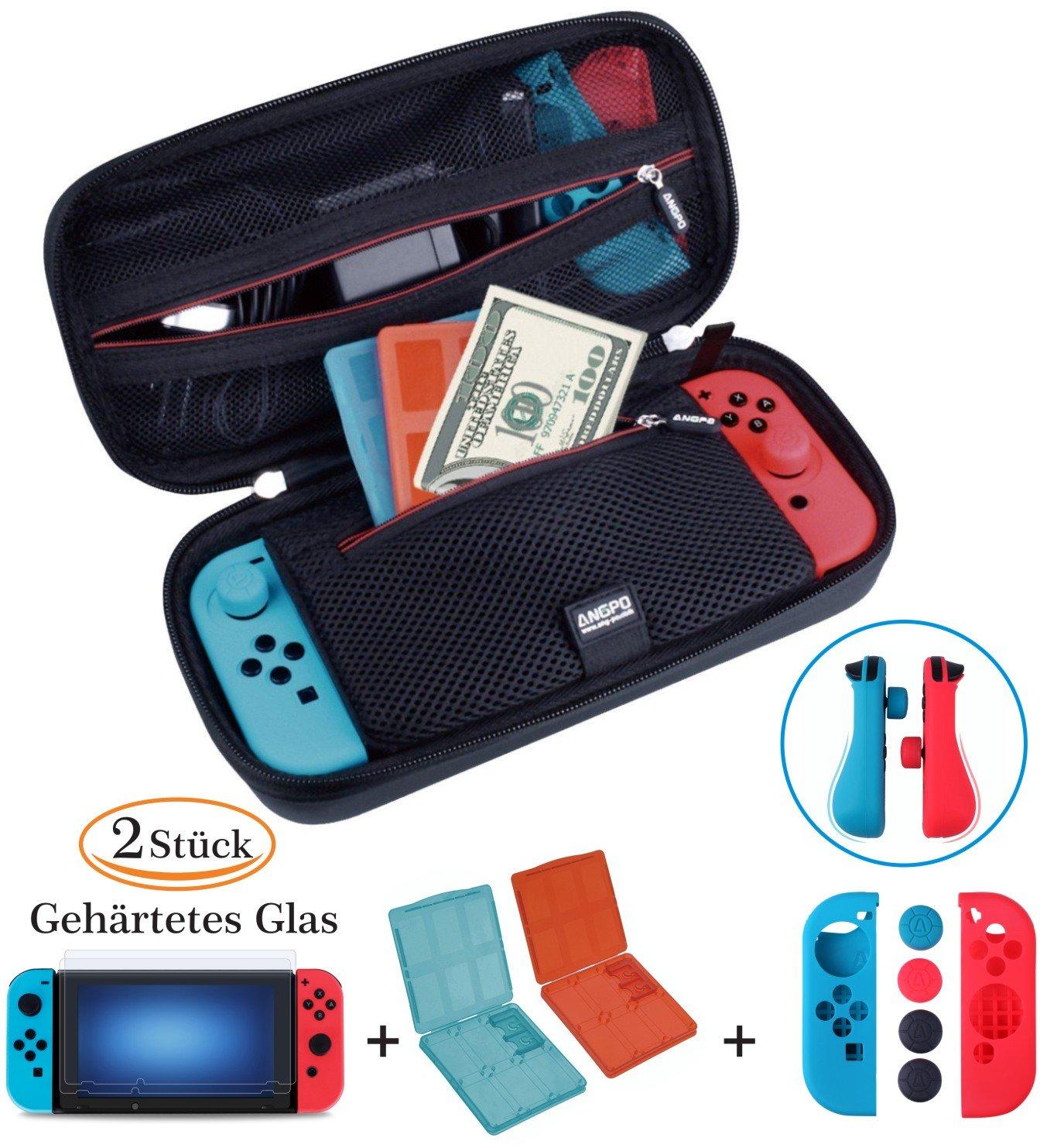 【Kit de la Caja Nintendo Switch】 Nintendo Switch, Estuche y...