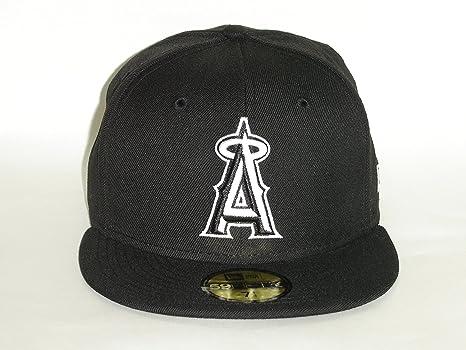 size 40 70a7a 681c8 New Era MLB Los Angeles Angels of Anaheim Basic black Cap 59fifty NewEra  Select Cap Size