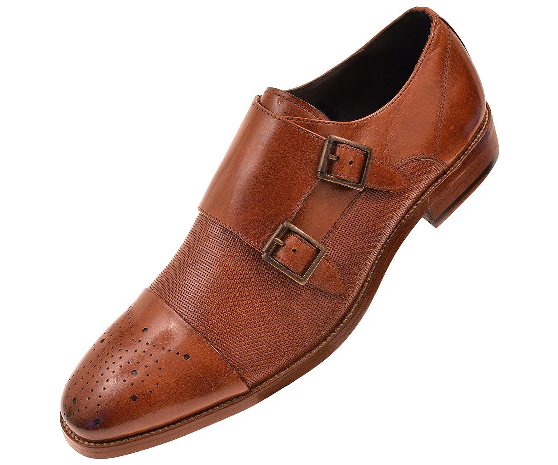 Amazon Com Asher Green Mens Dress Shoes Genuine Calf Leather Cap