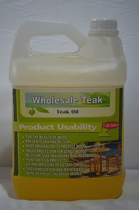 Merveilleux WholesaleTeak Teak Wood Furniture Oil Finish Sealant Protector Sealer   1  Gallon #WHAXTO
