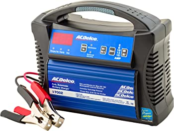 AC Delco I-7002 15 Amp Battery Chargers with Clamps