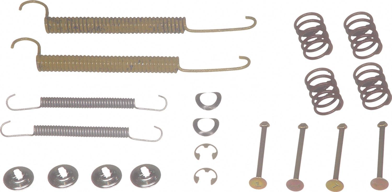 Rear Wagner H7081 Drum Brake Hardware Kit