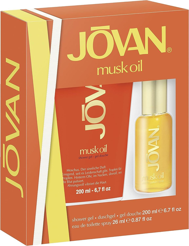 Jovan Musk Oil Mujer Set de regalo: Amazon.es: Belleza