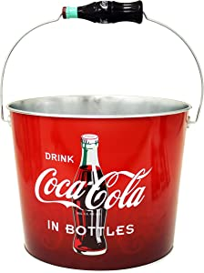 Coca Cola Large Galvanized Beverage Bucket