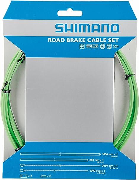 Shimano Dura-Ace 9000 Road Brake Polymer Coated Cable /& Housing Set Green Bike