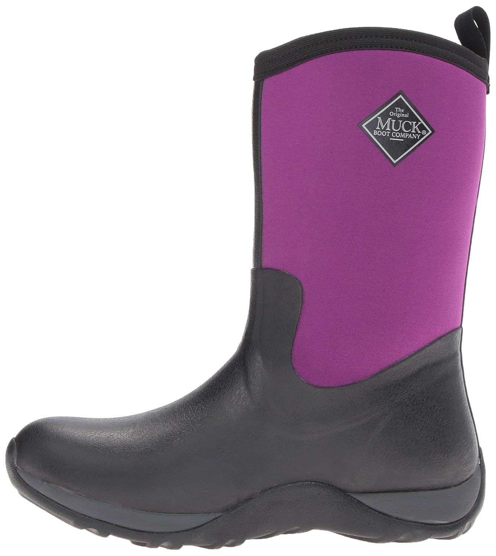 Muck Boot Women's Arctic Weekend Mid US|Black/Phlox Snow B01M0N60Y4 11 B(M) US|Black/Phlox Mid Purple 6980d9