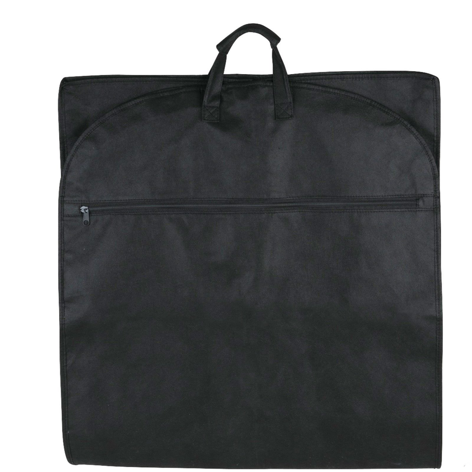 NEW 48'' Breathable Gusseted Travel Garment Bag Cover - For Suits Dress, Clothes, Tux, Jersey Storage Travel (1 PACK) by ImpecGear (Image #3)