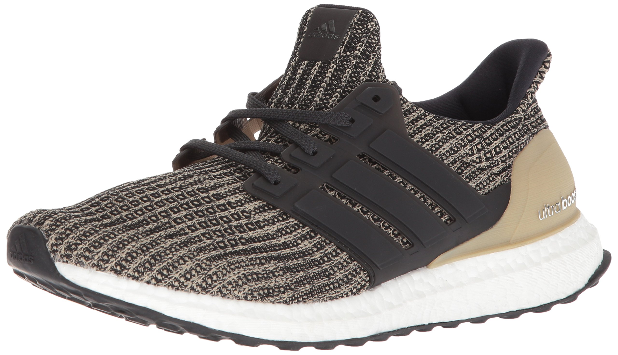 adidas Men's Ultraboost, Black/raw Gold, 6.5 M US