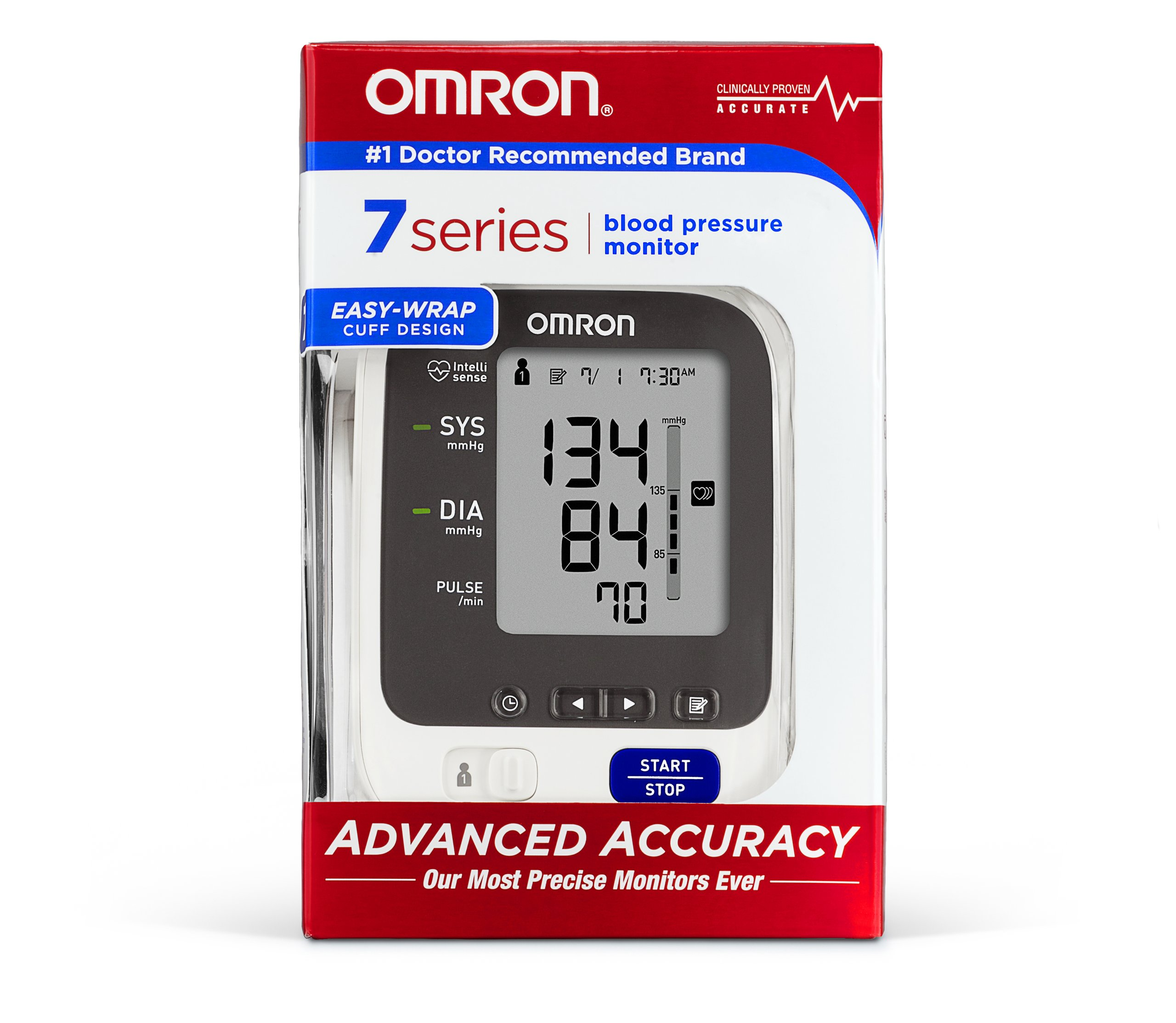 Omron 7 Series Upper Arm Blood Pressure Monitor with Two User Mode (120 Reading Memory) by Omron (Image #2)
