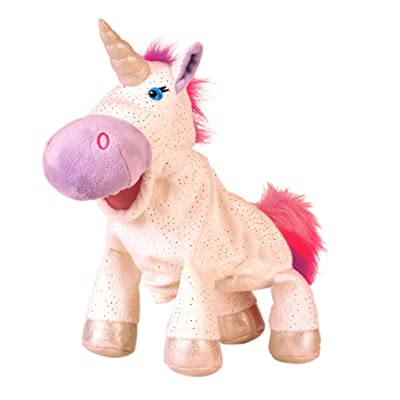 Fiesta Crafts Unicorn Hand Puppet: Toys & Games