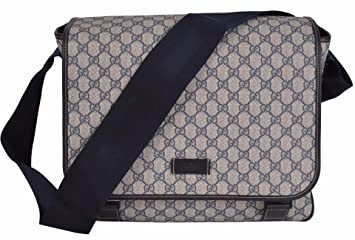ae8654575 Image Unavailable. Image not available for. Color: Gucci Women's GG Supreme  Canvas Baby Diaper Bag
