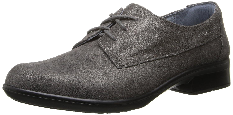 NAOT Women's Kedma Oxford B00IFQZUYM 38 EU/7-7.5 M US|Gray Shimmer Leather