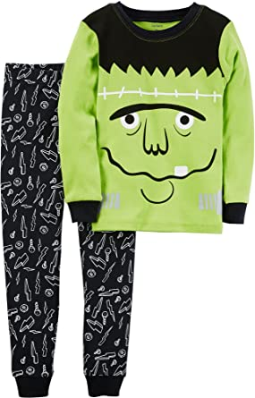 amazoncom carters boys glow in the dark halloween pajamas clothing
