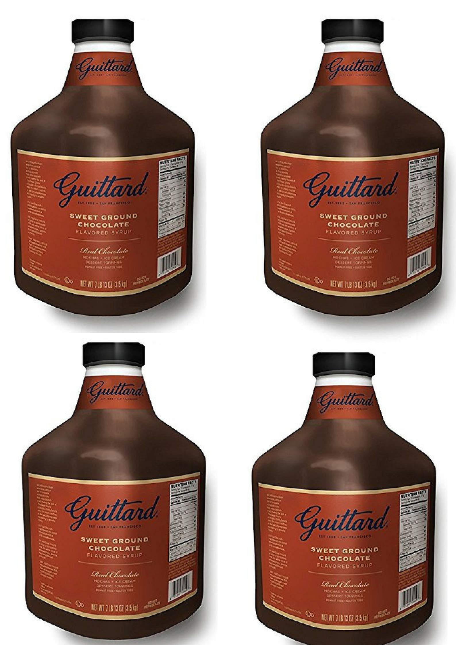 Guittard Chocolate Sauce 125oz (4 Pack)