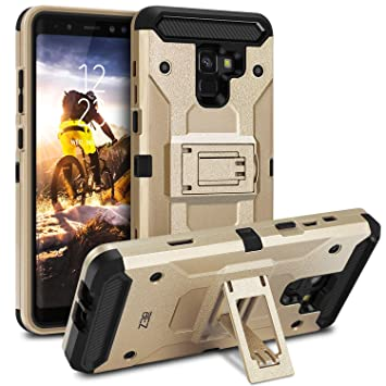 BEZ Funda para Samsung Galaxy A8 2018, Carcasa Protectora para Samsung A8 2018 Ultra Híbrida Gota Protección, Anti-Arañazos Choque Resistente, ...