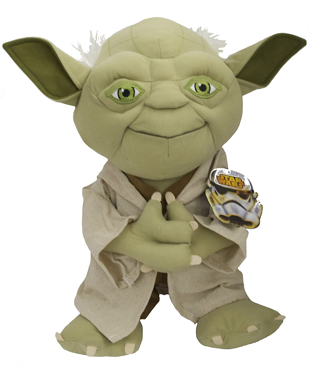 Star Wars Yoda Pillowtime Pal Soft and Cuddly sleeping pillow buddy