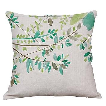 Amazon.com: Flamingo Throw decorativos fundas de almohada de ...