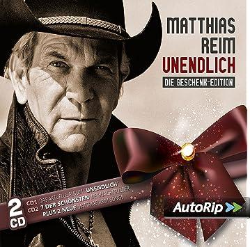 Unendlich Die Geschenk Edition Matthias Reim Amazon De Musik