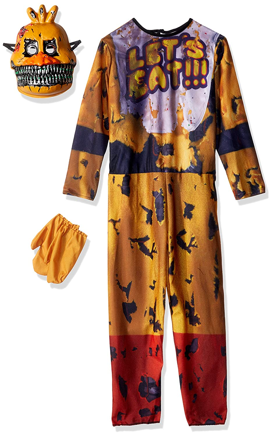 Five Nights At Freddys Nightmare Chica Costume Child