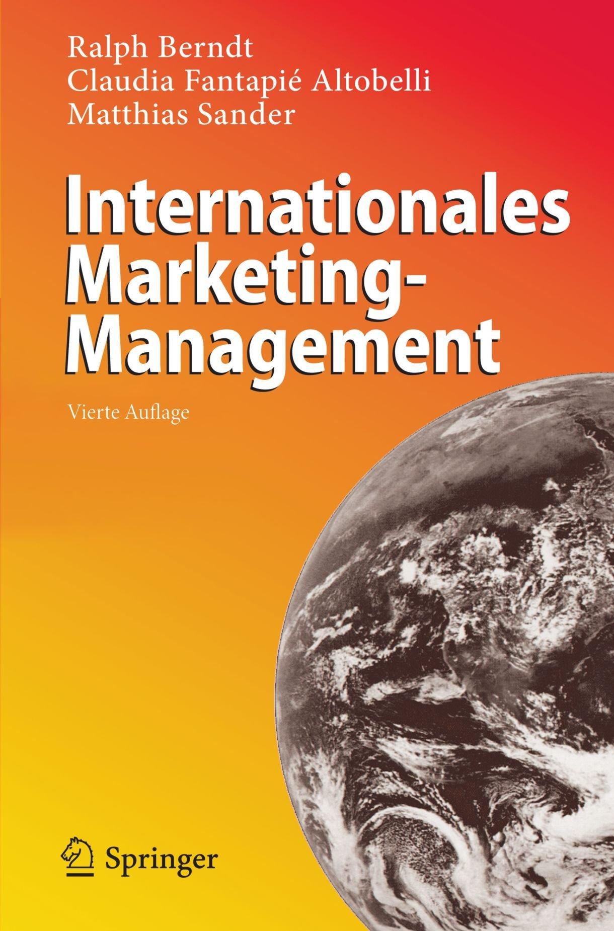 Internationales Marketing-Management (German Edition)