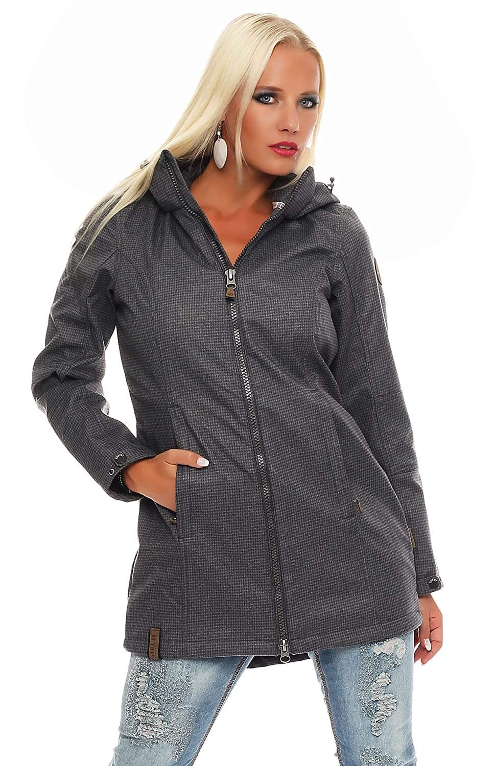 G.I.G.A. DX by Killtec Damen Softshell Parka Mantel ZARIE