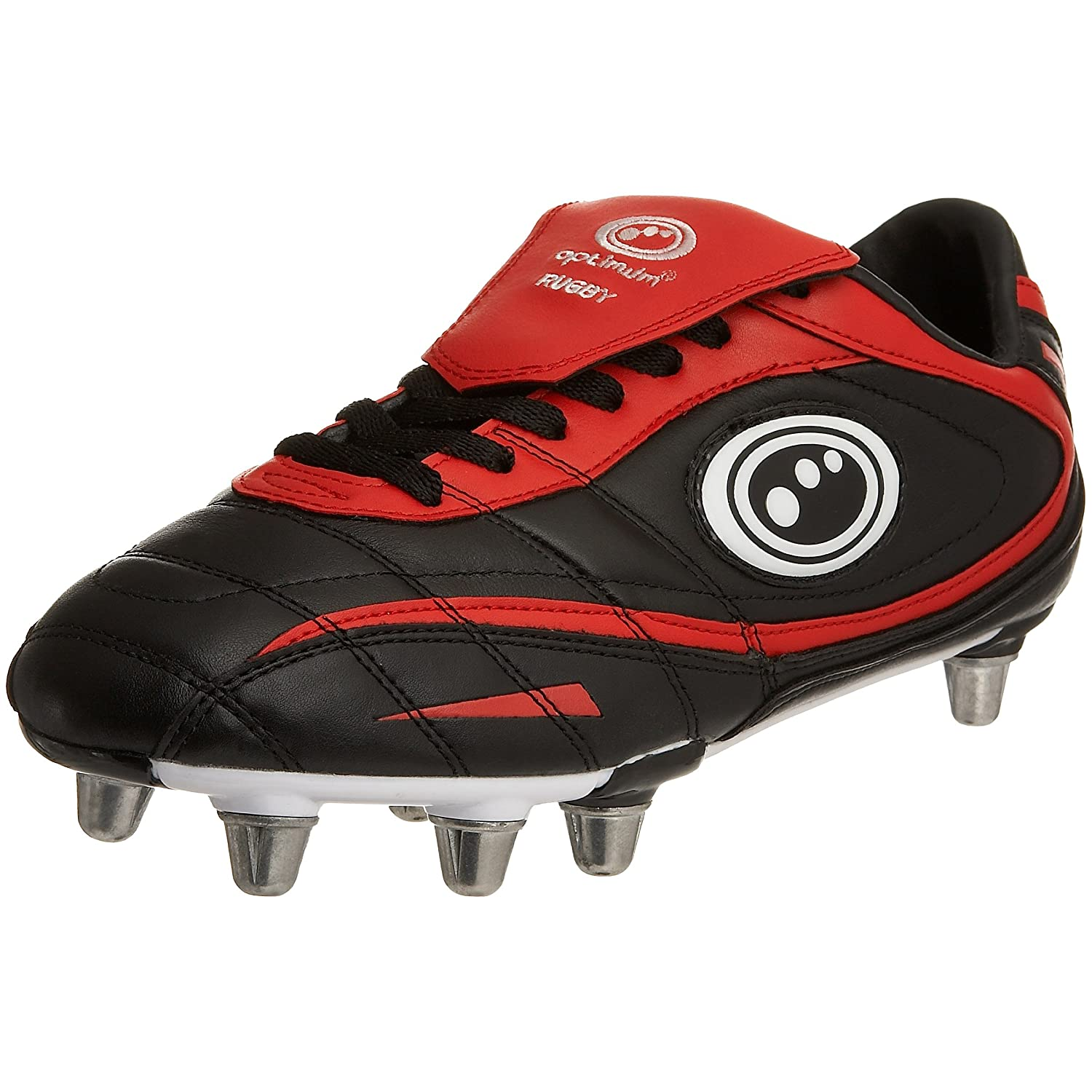 Adult Inferno II Rugby Boots Black/Red US11