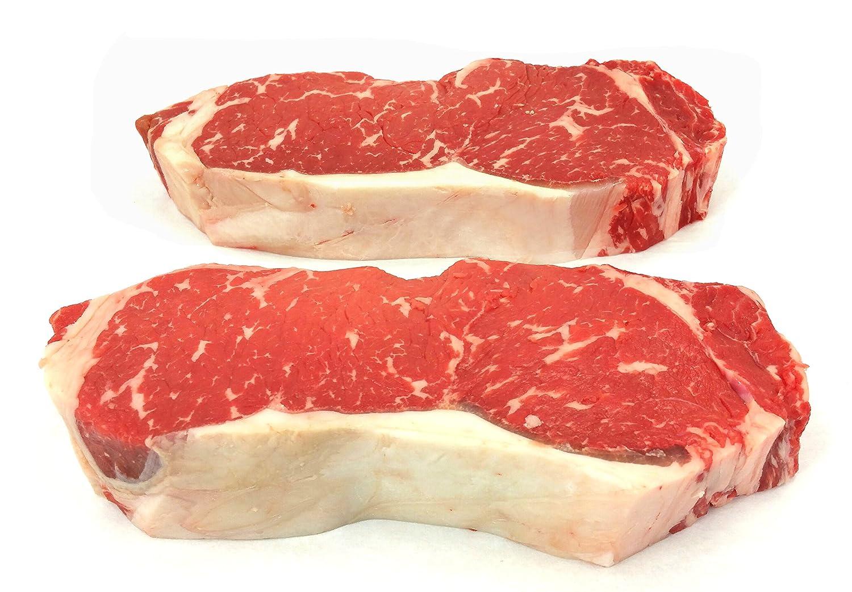 Choice strip steaks sorry