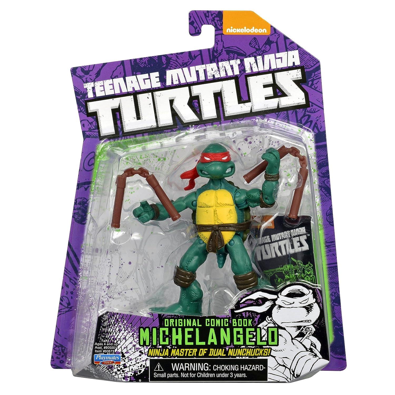 Teenage Mutant Ninja Turtles Comic Book Michelangelo Figure ...