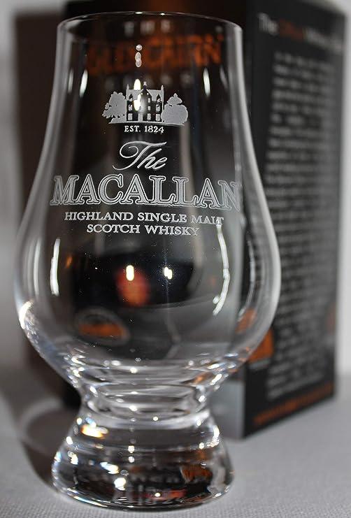 EDRADOUR DISTILLERY LOGO GLENCAIRN SCOTCH MALT WHISKY TASTING GLASS