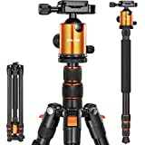 Joilcan 80-inch Tripod for Camera, Aluminum Tripod for DSLR,Monopod, Lightweight Tripod with 360 Degree Ball Head Stable…