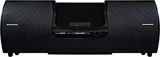 SiriusXM SXSD8 Portable Speaker Dock Audio System for Dock and Play Radios  (Black)