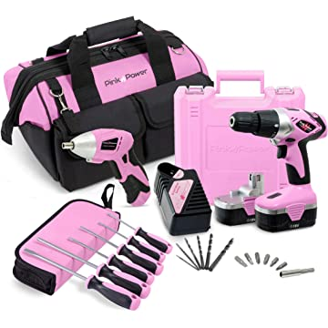 Pink Power Cordless Combo