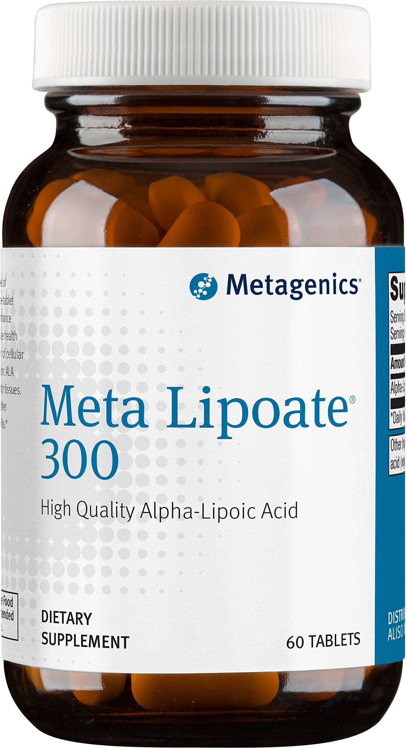 Metagenics - Meta Lipoate 300 mg Tablets, 60 Count